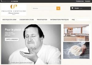 cours de pâtisserie Philippe Conticini